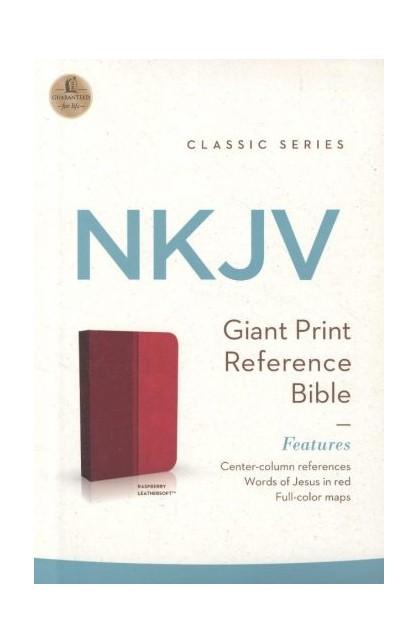 NKJV Giant Print CenterColumn Reference Bible