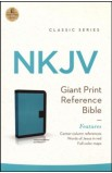 Giant Print Reference Bible NKJV 0993TRTurquoise