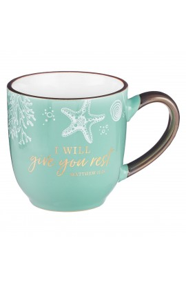 Mug Give You Rest Green