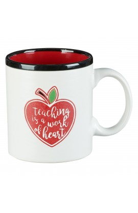 Mug Teacher Work of Heart