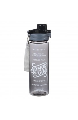Water Bottle Plastic Armor Of God
