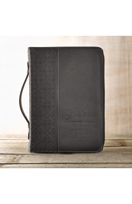 Guidance LuxLeather Bible Cover in Black Medium