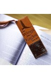 Isaiah 40:31 Faux Leather Bookmark