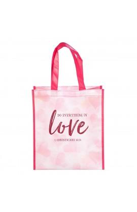 Tote Bag Love 1 Cor 16:14