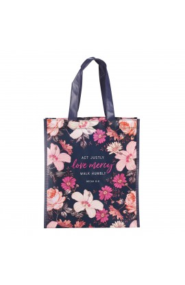 Tote Bag Mercy Remains Micah 6:8