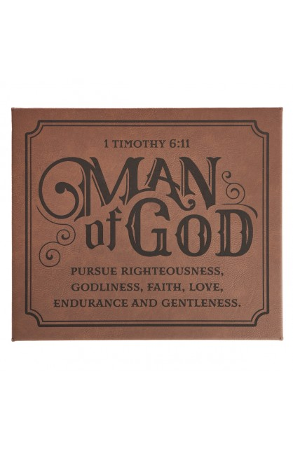 Wall Plaque Man of God
