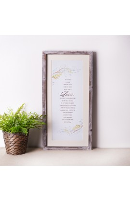 Wall Plaque Love Is