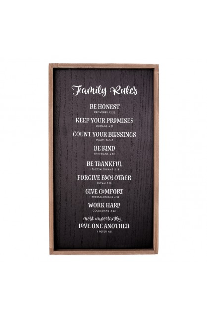 Wall Art Family Rules