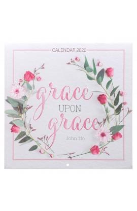 2020 Calendar Lg Grace Upon Grace