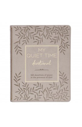 Devotional My Quiet Time LuxLeather