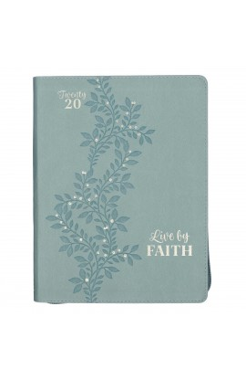 2020 Planner Zip Live by Faith