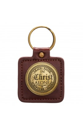 Keyring in Tin In Christ Alone