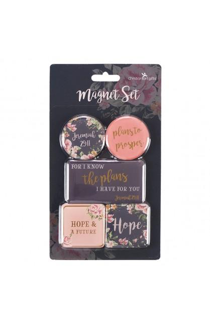 Magnet Set of 5 Plans to Prosper