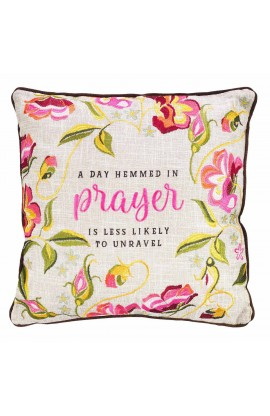 Pillow Square Hemmed Prayer