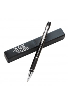 Pen in Case Man of God Black 1 Tim 6:11