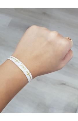 Jesus Gold Glitter AYAT New Tie Band 30 cm