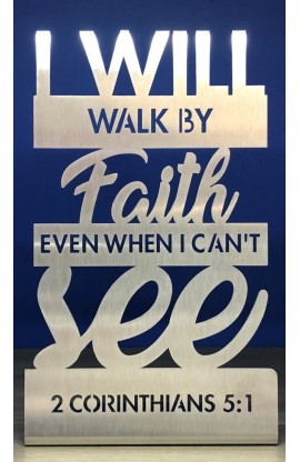 20 CM I WILL WALK BY FAITH ST