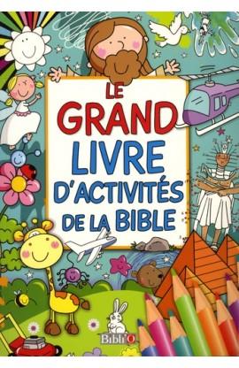 LE GRAND LIVRE D'ACTIVITES DE LA BIBLE SB5998