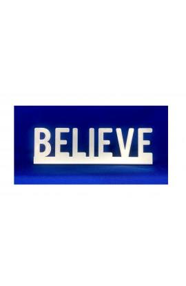 BELIEVE ST 15 CM