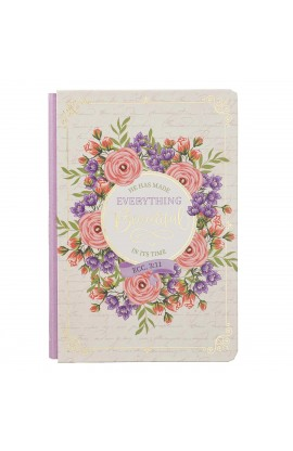 Journal Quarter Bound Pink He Has Made Everything Beautiful