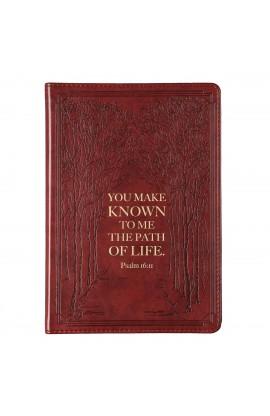 Journal Slimline Brown Path Of Life Psa 16:11