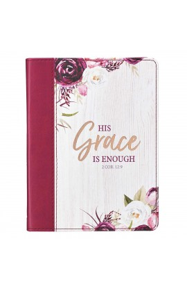 Journal Handy Burg His Grace Is Enough 2 Cor 12:9