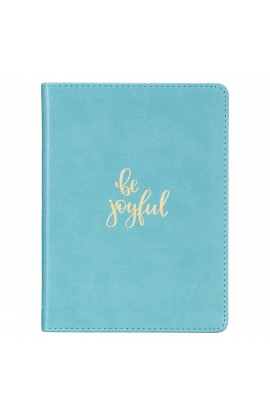 Journal Handy Teal Be Joyful