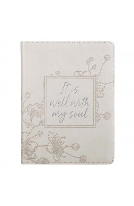 Journal Handy Gray It Is Well With My Soul