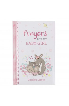 Gift Book Prayers for My Baby Girl