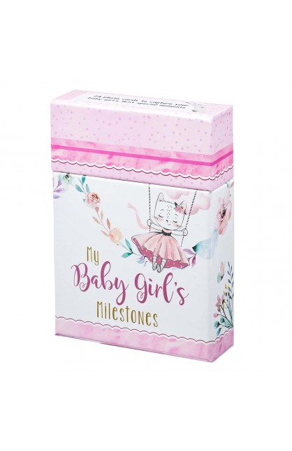 Card Box My Baby Girl's Milestones