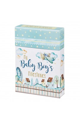 Card Box My Baby Boy's Milestones
