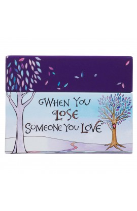 Card Box When You Lose Someone You Love