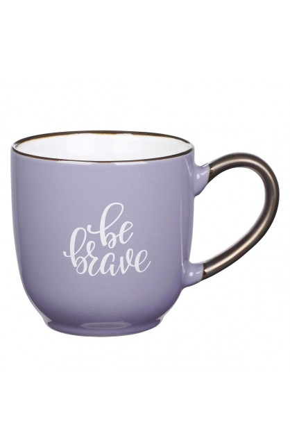 Mug Purple Be Brave