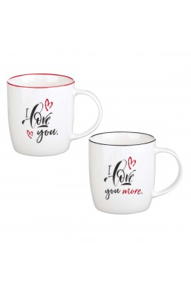 Mug Set I Love You