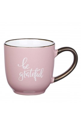 Mug Pink Be Grateful