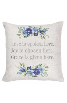 Pillow Square Love Joy Grace