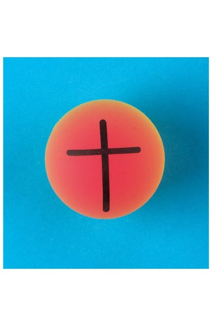 LARGE BALL WITH CROSS SYMBOL
