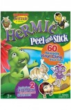 HERMIE PEEL AND STICK CLING ONS