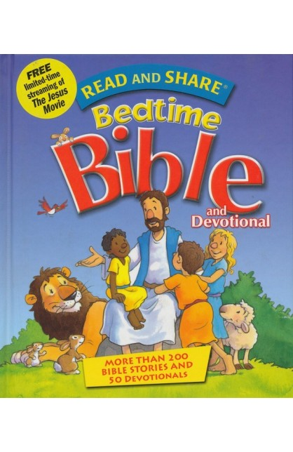 READ AND SHARE BED TIME BIBLE AND DEVOTIONAL