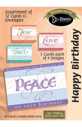 BIRTHDAY SET 6 BOXED CARD