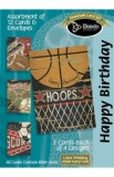 BIRTHDAY SPORTS BOXED CARD
