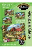 BIRTHDAY COUNTRY BARN BOXED CARD