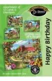 BIRTHDAY COUNTRY BARN BOXED CARD