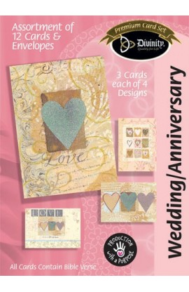 WEDDING ANNIVERSARY BOXED CARD