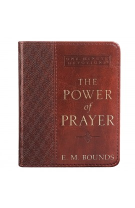 One-Minute Devotions: The Power of Prayer LuxLeather Edition