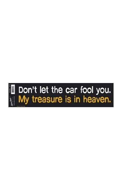 DON'T LET THE CAR FOUL YOU BUMP VINYL