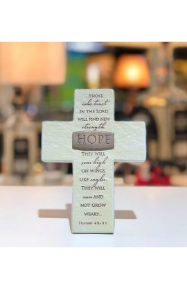 Cross Desktop Resin Bronze Title Bar Hope