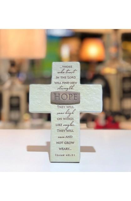 Cross Desktop Resin Bronze Title Bar Hope