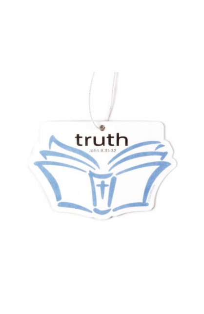 TRUTH OPEN BIBLE LINEN AIR FRESHENER