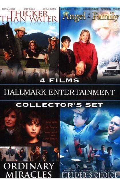 HALLMARK ENTERTAINMENT 4 FILMS COLLECTOR'S SET